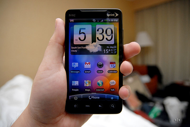Android, HTC Evo