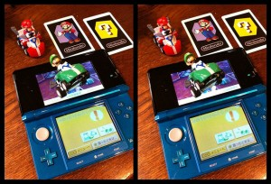 Nintendo 3DS, AR Cards