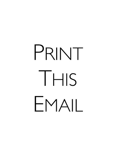 Printing Email