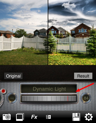 Dynamic Light Dial