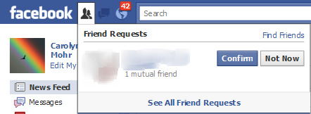 Facebook Friend Request