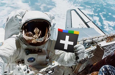 Google Plus Space Walk