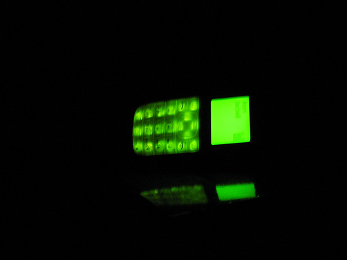 Mobile phone torch