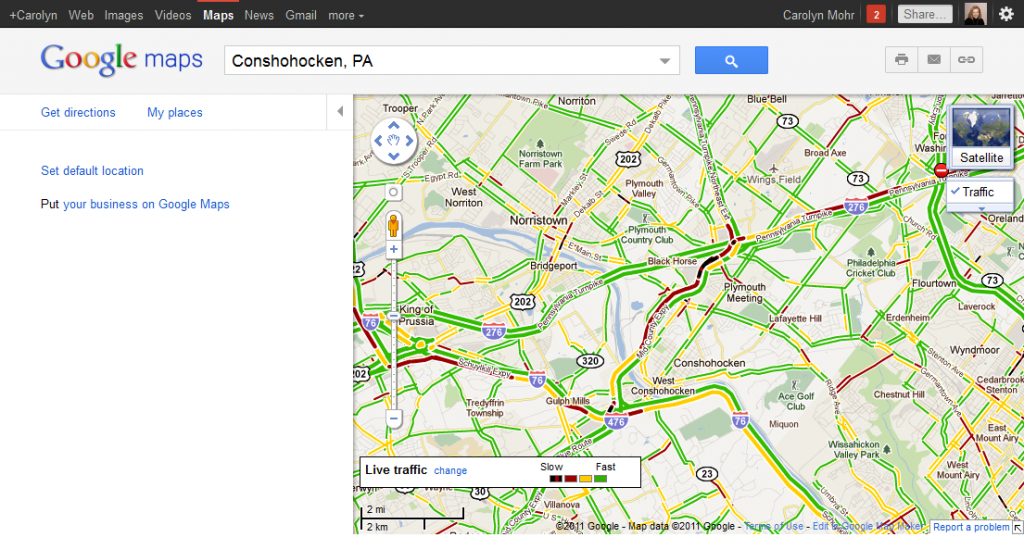 Google Maps Traffic The Answer To Your Traffic Nightmares