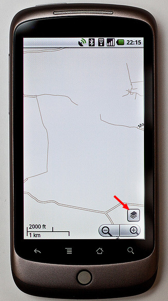 Google Maps Android Traffic