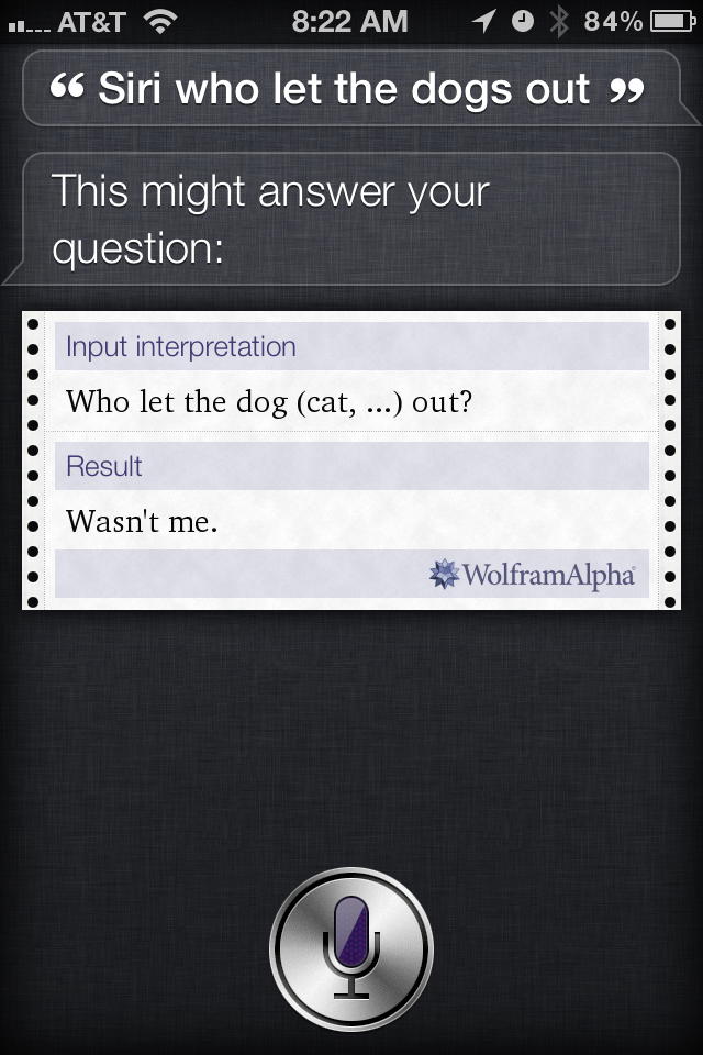 Why siri is siri licious