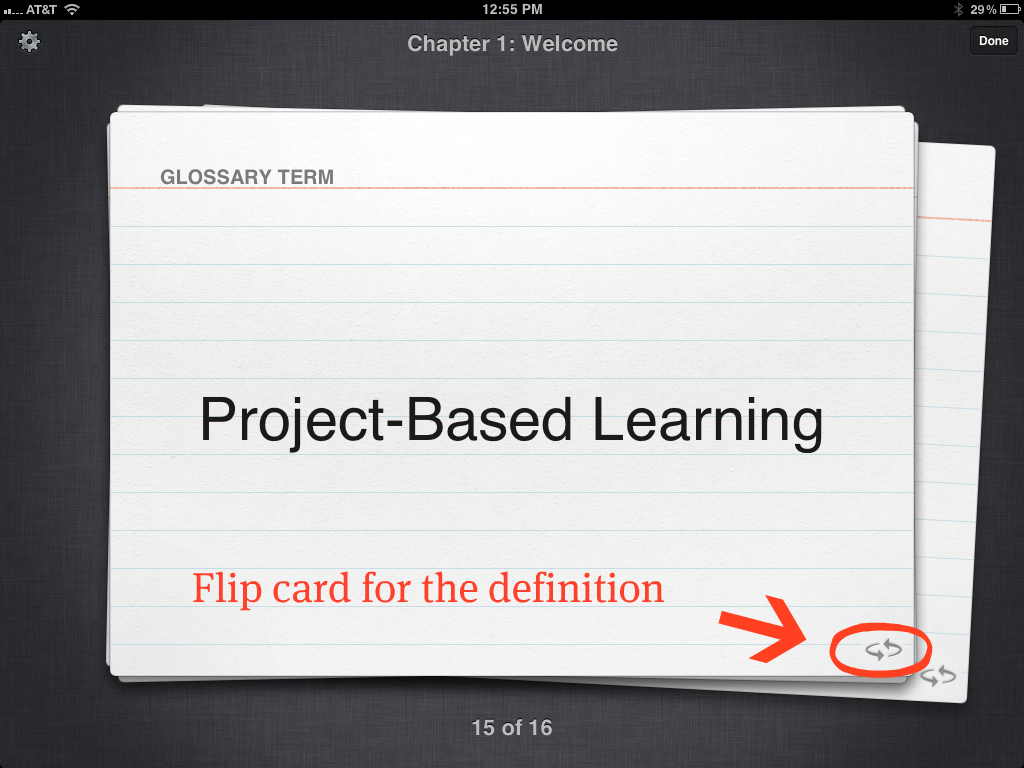 Glossary Terms iBooks