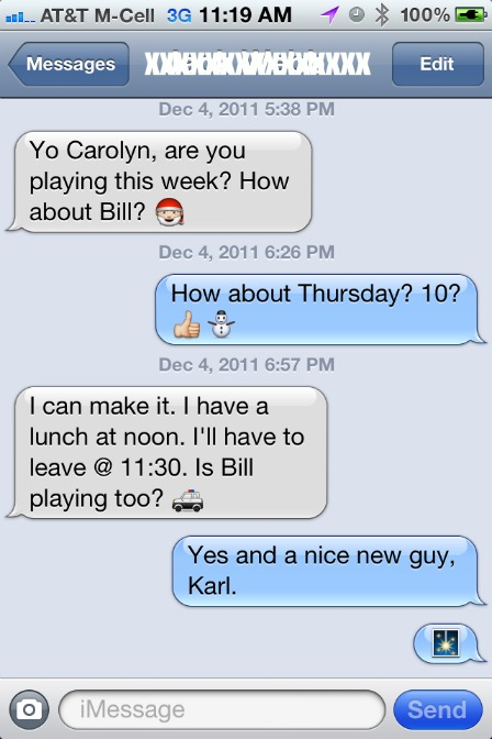 iMessage Sample