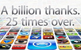 iTunes 25 billion apps