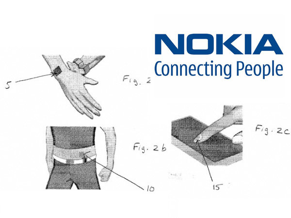Nokia cell phone tattoo