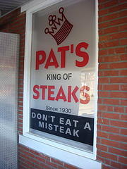 pats steaks