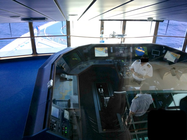 Cruise Ship Navigation