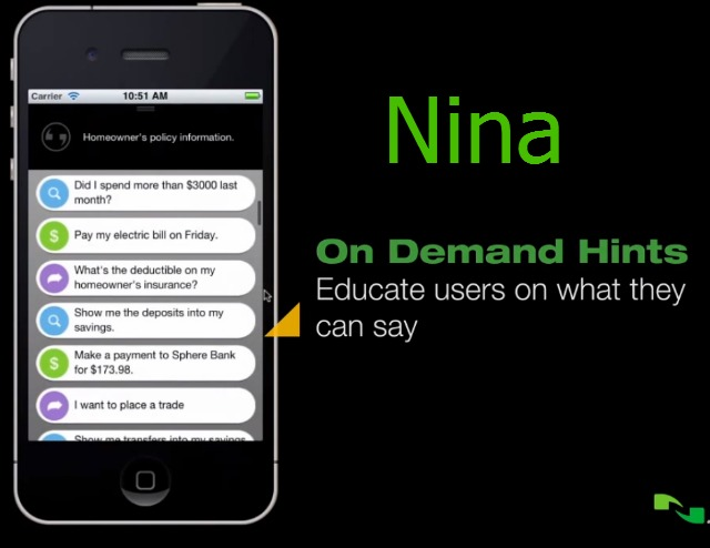 Nina Voice Recognition Personal Assistant