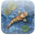 Relax with a virtual koi pond