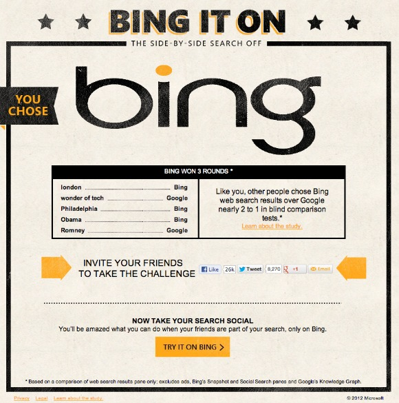 Bing It On Winner