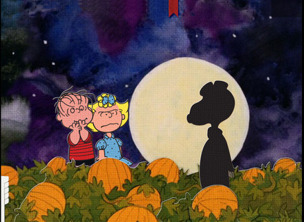 Great Pumpkin Snoopy Peanuts iPhone Android