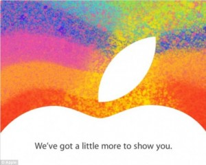 iPad Mini invitation Apple Press event