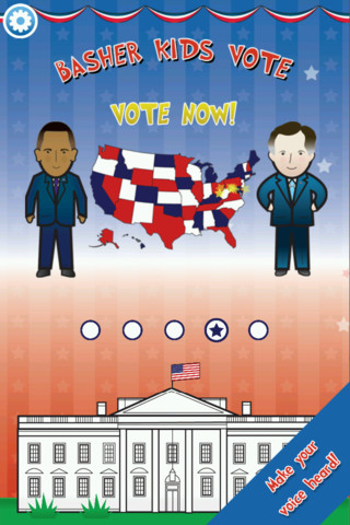 Kids can vote with the Basher Presidents app