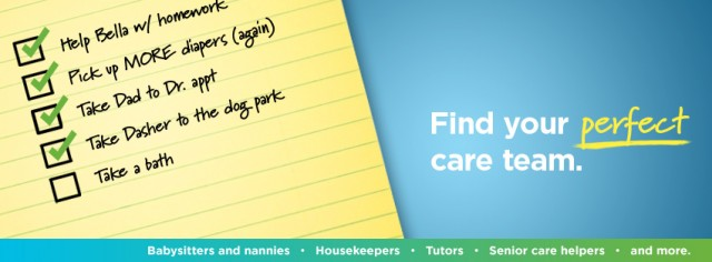 Categories of Caregiving from Care.com