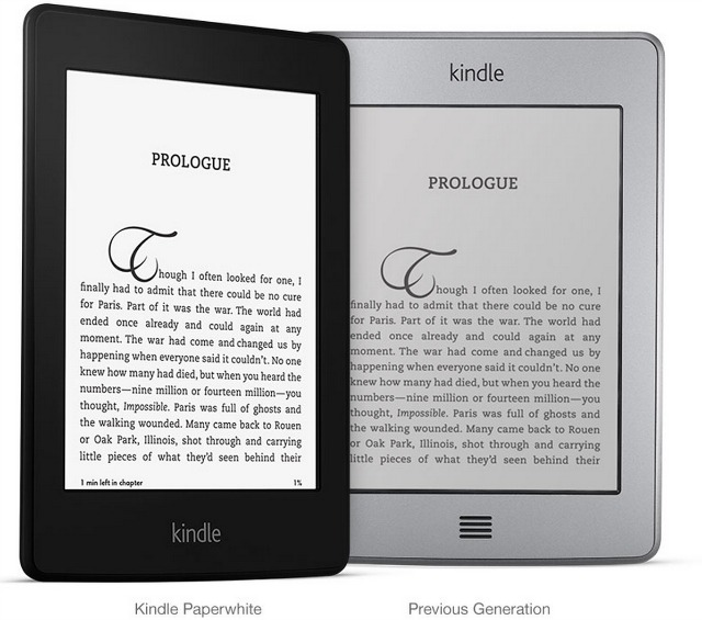 Kindle Paperwhite Brightness