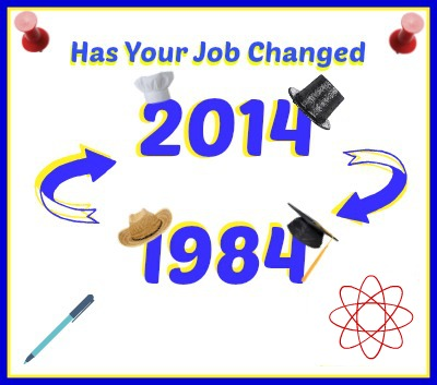 Poll Career Changes in 30 years