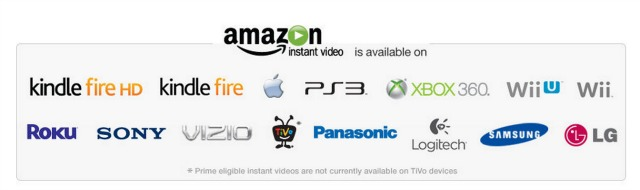 Amazon instant Video Players