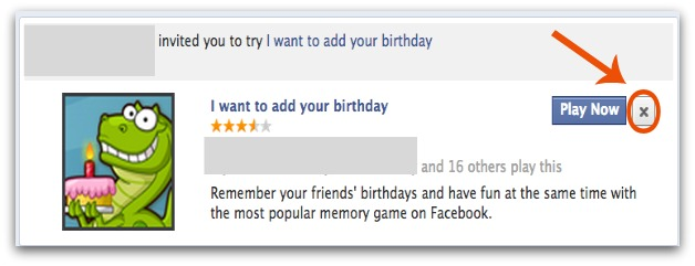 Block Facebook Game Invitations