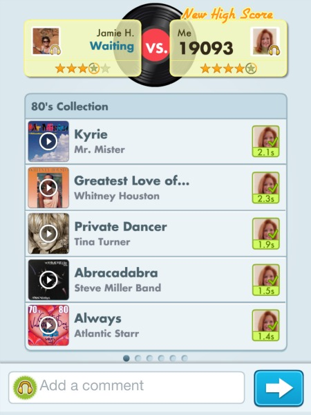 Song Pop points