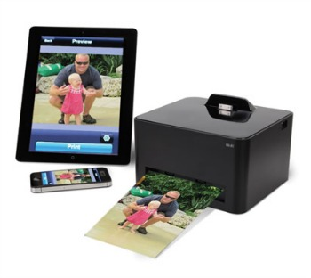 Hammacher Schlemmer iPhone Photo Printer