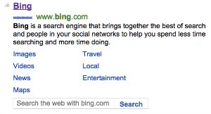 Search Bing on Bing!