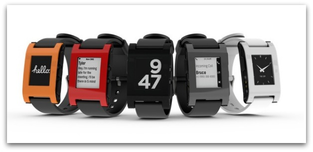 Pebble Watch faces