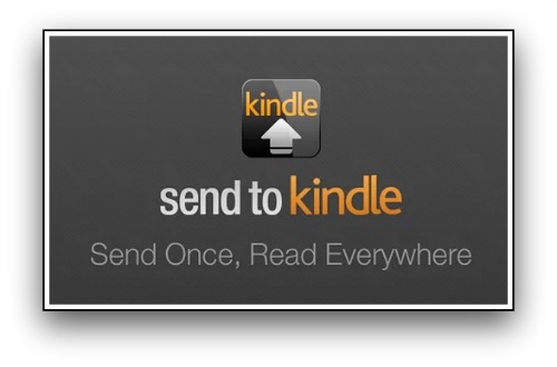 Send to Kindle ereaders and apps