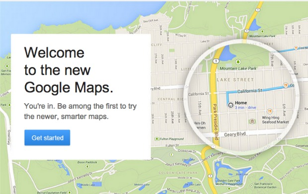 Google Maps Invitation