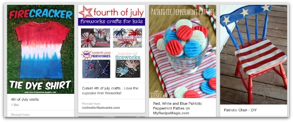 DIY 4th of July Pinterest