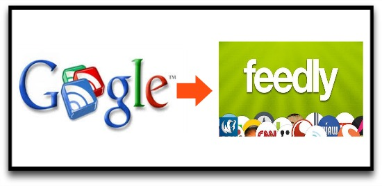 Google Reader switch to Feedly