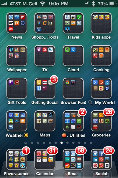 How to create app folders for your iphone and ipad for How do i design an app