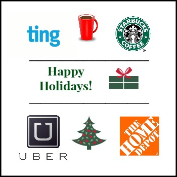 Ting and Uber Happy Holidays