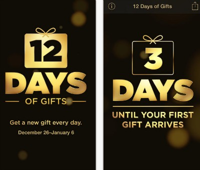 iTunes 12 Days of Gifts 2013
