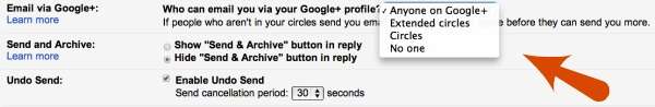 Opt Out Gmail Messages Google Plus
