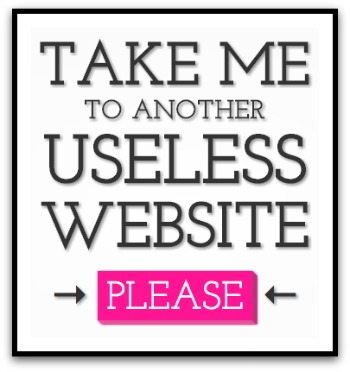 Useless (But Fun) Websites