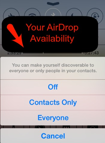 AirDrop Discover Others Around You