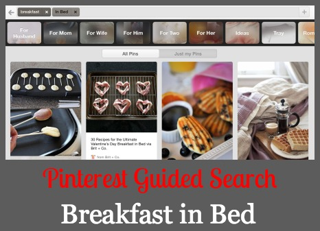 Pinterest Guided Search Recipes