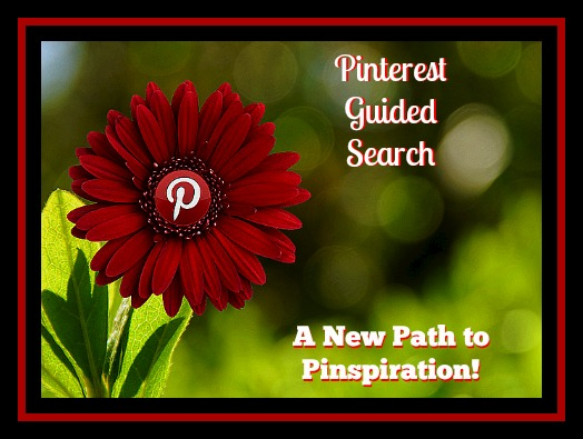 Pinterest Guided Search for Pinspiration!