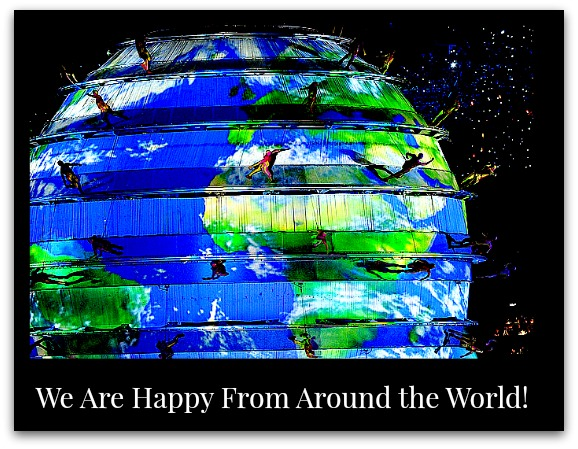 We Are Happy From Around the World