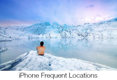 iPhone Frequent Locations Favorite Places