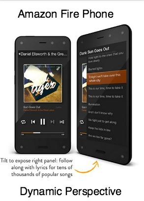 Dynamic Perspective 3D Amazon Fire Phone