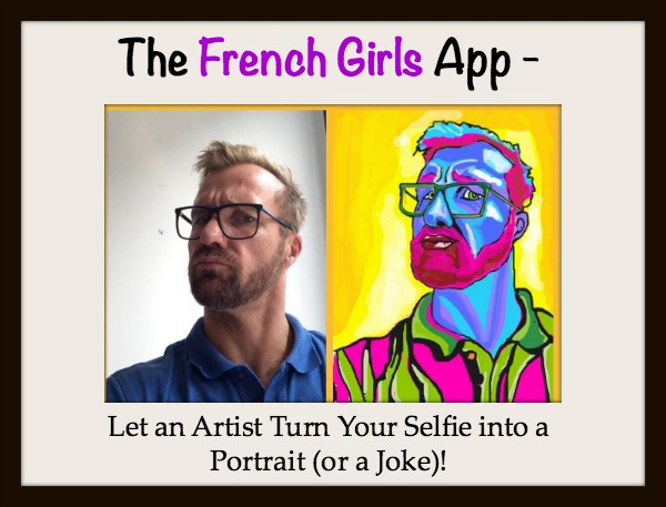 French Girls Selfie App