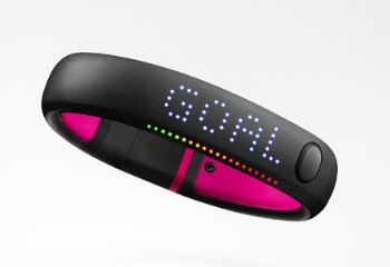 Nike Fuel Band Display
