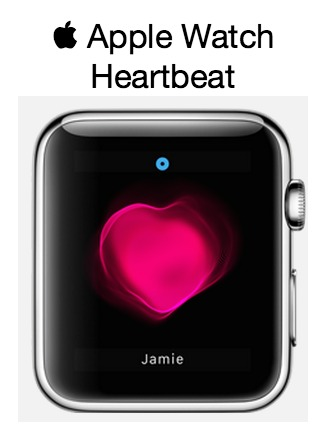 Heartbeat Apple Watch