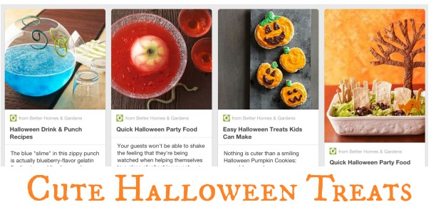 Better Homes and Gardens Halloween Board